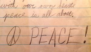 From my first essay, with the Vietnam War and race relations on my mind.