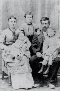 Pius and Elizabeth Durbin and children
