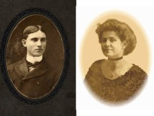 William Oscar and Margaret Elizabeth Durbin in 1902