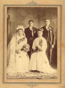 Adam and Julia Malec wedding. 1905