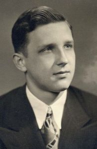 William Pius Durbin, Jr. Central Catholic HS graduation photo. 1947