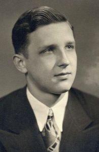 William Pius Durbin, Jr. Central Catholic HS graduation photo. 1947
